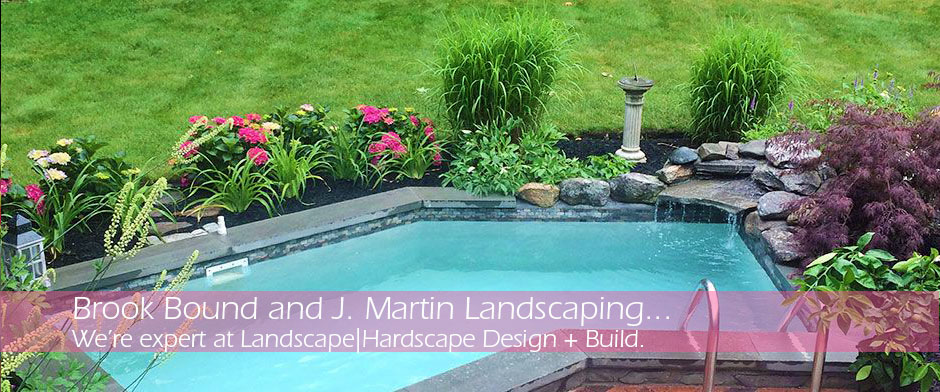 Residential Landscaping & Hardscape Design by J Martin Landscaping and Brook Bound Nursery